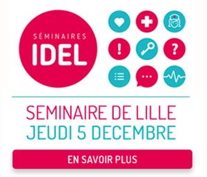 Séminaire infirmière libérale à Lille le 5 décembre